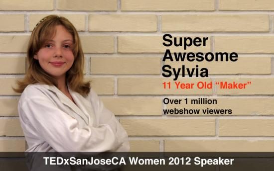 The official image of Sylvia for TEDx San Jose CA Women