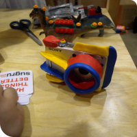 "A ""child-proof"" camera created with Sugru"