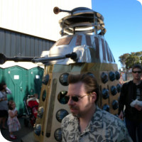 A very large Dalek