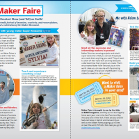 Sylvia's two page article in MAKE Magazine Volume 30, go get yours today before they run out!